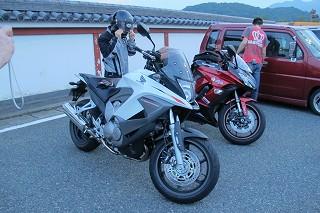 レアなバイクとレアなたいようさん.jpg
