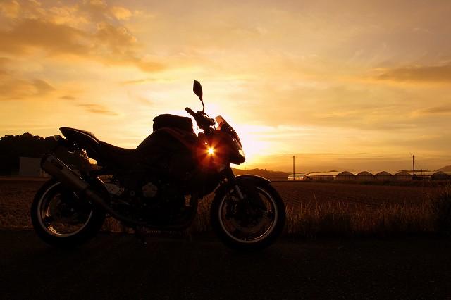 夕陽の中のoranZ号.jpg
